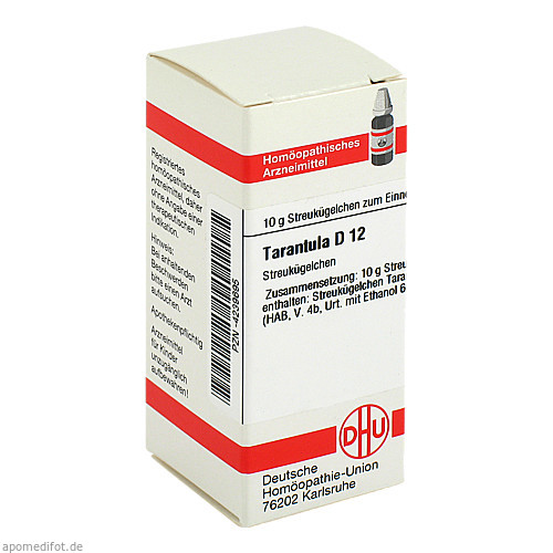 TARANTULA D12, 10 G, Dhu-Arzneimittel GmbH & Co. KG