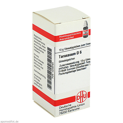 TARAXACUM D 6, 10 G, Dhu-Arzneimittel GmbH & Co. KG