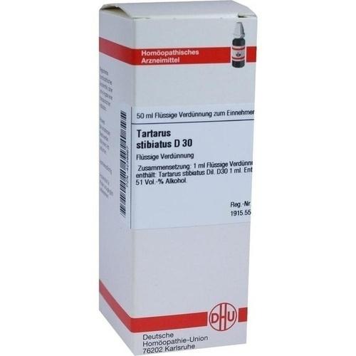 TARTARUS STIBIATUS D30, 50 ML, Dhu-Arzneimittel GmbH & Co. KG