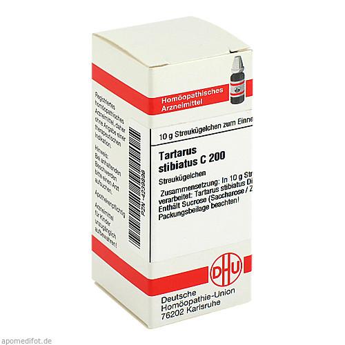 TARTARUS STIBIATUS C200, 10 G, Dhu-Arzneimittel GmbH & Co. KG