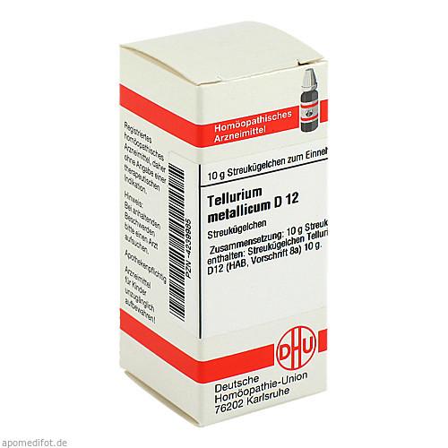TELLURIUM METALLICUM D12, 10 G, Dhu-Arzneimittel GmbH & Co. KG