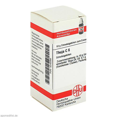 THUJA C 6, 10 G, Dhu-Arzneimittel GmbH & Co. KG