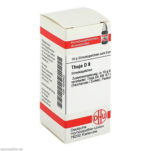THUJA D 8, 10 G, Dhu-Arzneimittel GmbH & Co. KG