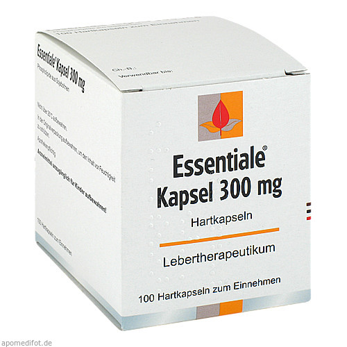 Essentiale Kapseln 300mg, 100 ST, MCM Klosterfrau Vertriebsgesellschaft mbH