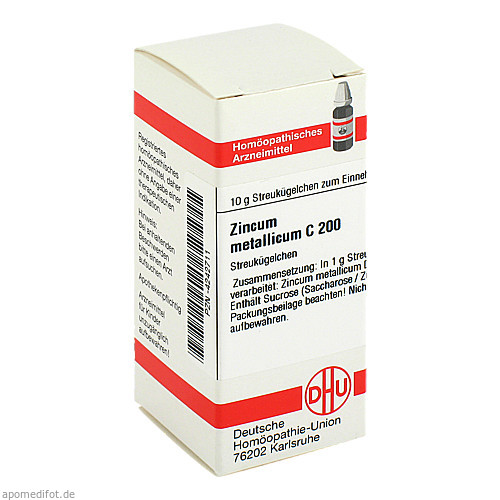 ZINCUM MET C200, 10 G, Dhu-Arzneimittel GmbH & Co. KG