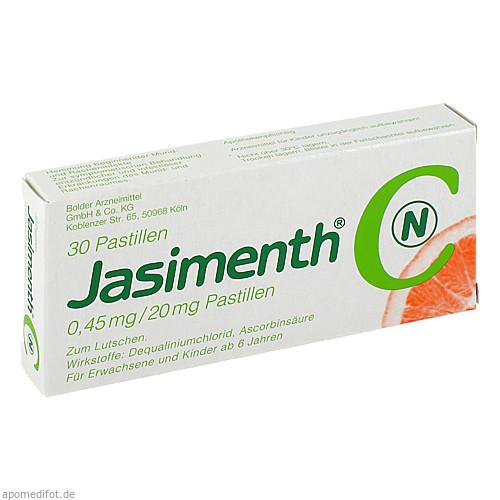 JASIMENTH C N Pastillen, 30 ST, Bolder Arzneimittel GmbH & Co. KG