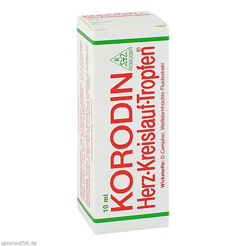 KORODIN HERZ KREISLAUF TRO, 10 ML, Robugen GmbH Pharmazeutische Fabrik