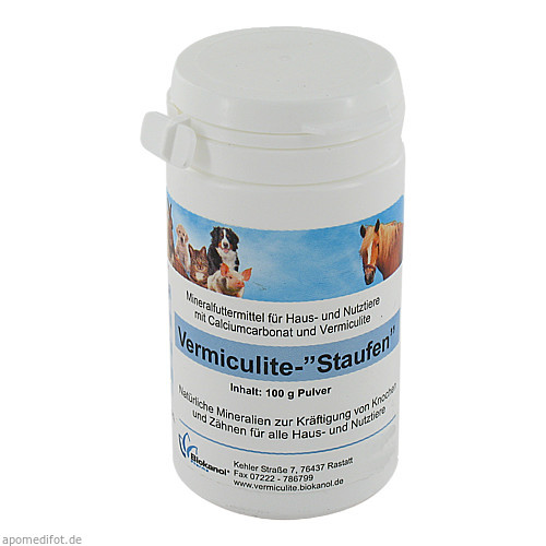 Vermiculite- Staufen vet., 100 G, Biokanol Pharma GmbH