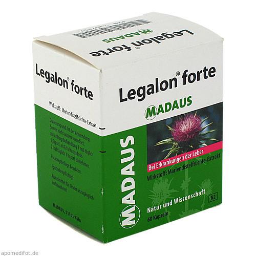 LEGALON forte Hartkapseln, 60 ST, MEDA Pharma GmbH & Co.KG