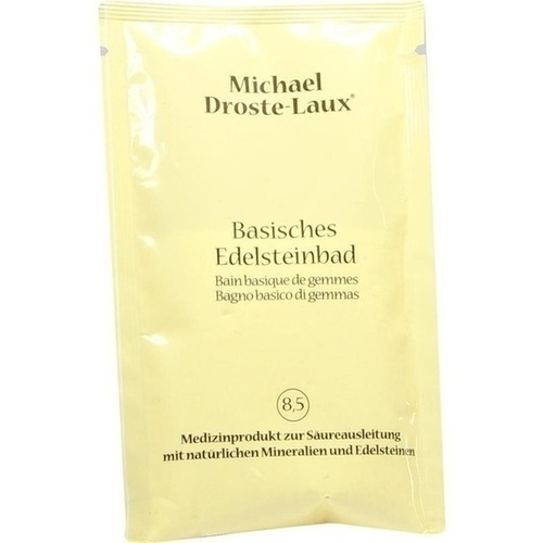 Droste-Laux Basisches Edelsteinbad Sachet, 60 G, Cito Med Arzneimittel Vertriebs GmbH