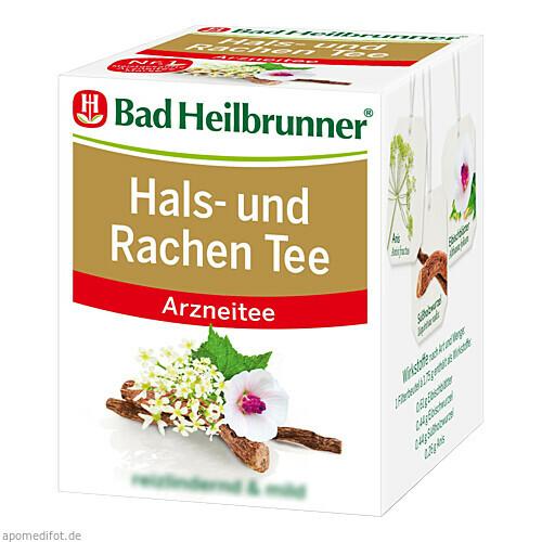 Bad Heilbrunner Hals- und Rachen Tee, 8 ST, Bad Heilbrunner Naturheilm. GmbH & Co. KG