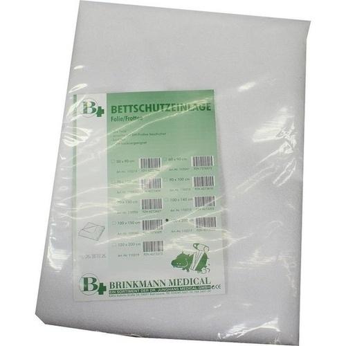 Bettschutzeinlage Folie/Frottee 100x200cm, 1 ST, Brinkmann Medical Ein Unternehmen der Dr. Junghans Medical GmbH