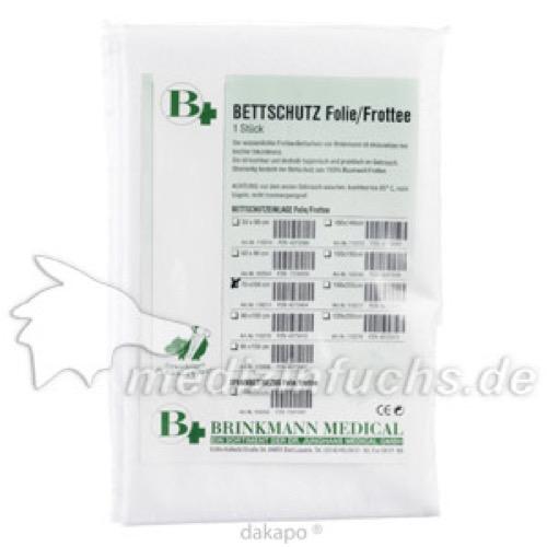 Bettschutzeinlage Folie/Frottee 70x100cm, 1 ST, Brinkmann Medical Ein Unternehmen der Dr. Junghans Medical GmbH