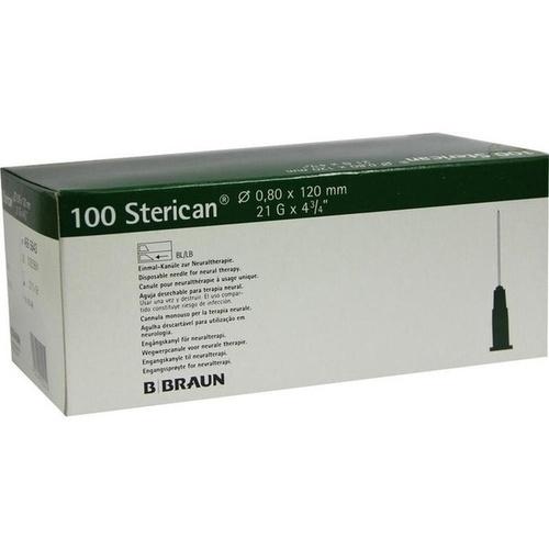 Sterican Knülen 21Gx4 4/5 0.8x120mm, 100 ST, B. Braun Melsungen AG