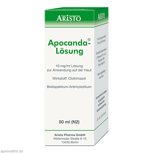APOCANDA, 50 ML, Aristo Pharma GmbH