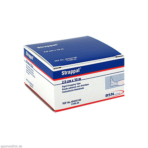 STRAPPAL TAPEVERB 10MX2.50, 1 ST, Bsn Medical GmbH