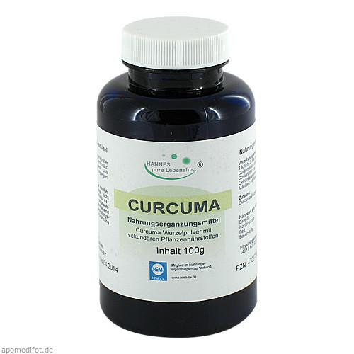 Curcuma Pulver, 100 G, G & M Naturwaren Import GmbH & Co. KG