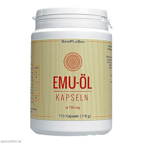 Emu-Öl-Kapseln 750mg naturrein, 110 ST, Sinoplasan AG