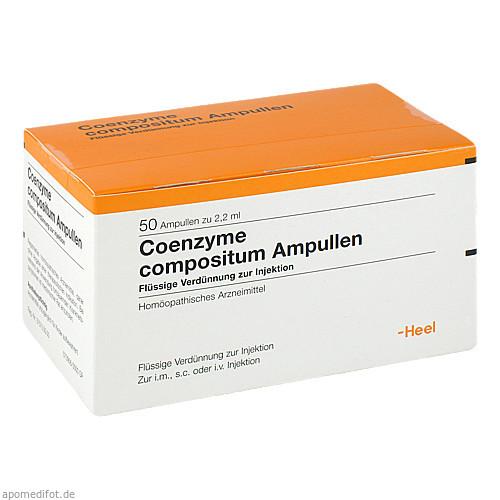COENZYME COMP, 50 ST, Biologische Heilmittel Heel GmbH