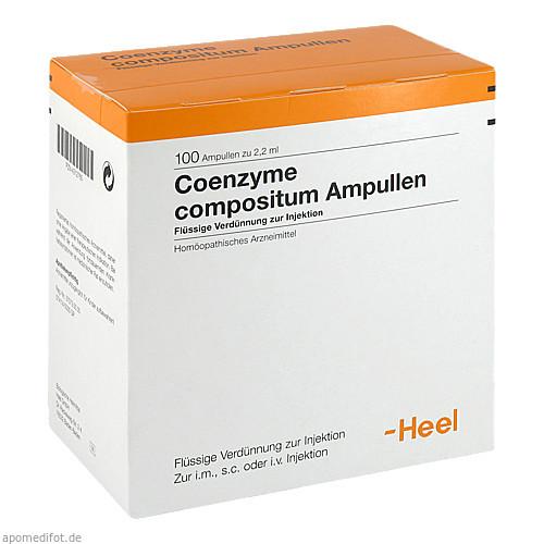COENZYME COMP, 100 ST, Biologische Heilmittel Heel GmbH