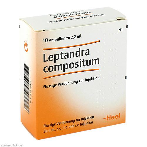 LEPTANDRA COMP, 10 ST, Biologische Heilmittel Heel GmbH