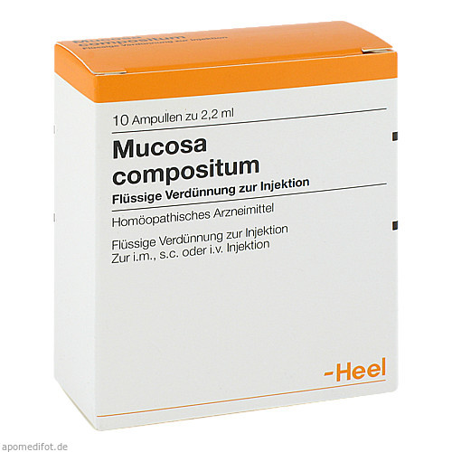 MUCOSA COMP, 10 ST, Biologische Heilmittel Heel GmbH