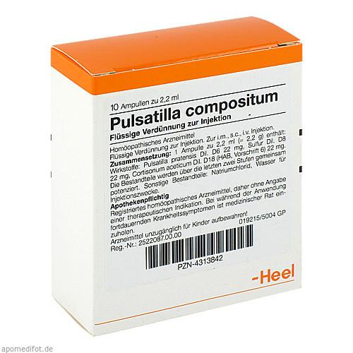 PULSATILLA COMP, 10 ST, Biologische Heilmittel Heel GmbH
