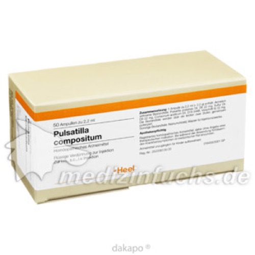 PULSATILLA COMP, 50 ST, Biologische Heilmittel Heel GmbH