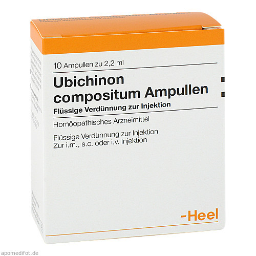 UBICHINON COMP, 10 ST, Biologische Heilmittel Heel GmbH