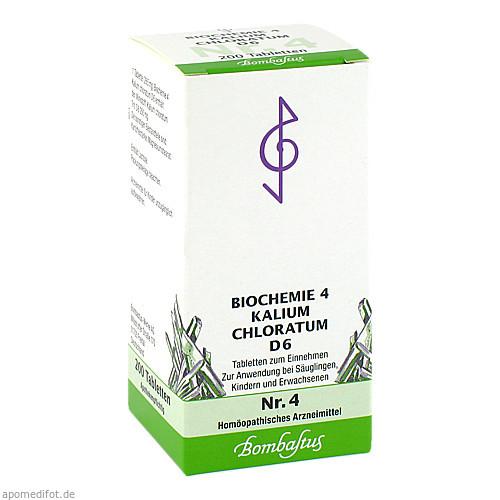 Biochemie 4 Kalium chloratum D 6, 200 ST, Bombastus-Werke AG