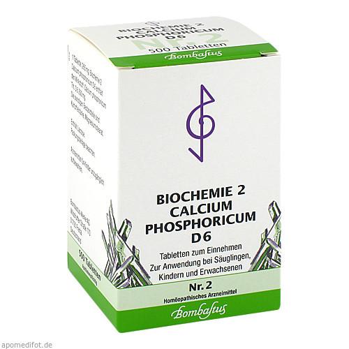 Biochemie 2 Calcium phosphoricum D 6, 500 ST, Bombastus-Werke AG