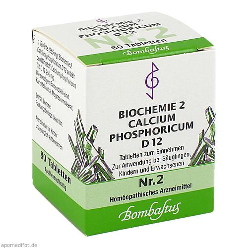 Biochemie 2 Calcium phosphoricum D 12, 80 ST, Bombastus-Werke AG
