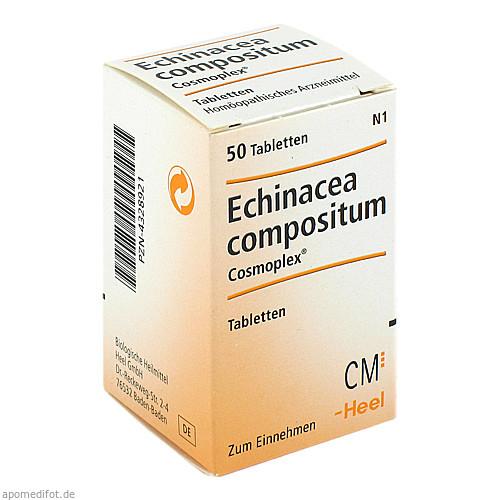 ECHINACEA COMPOSITUM COSMOPLEX, 50 ST, Biologische Heilmittel Heel GmbH