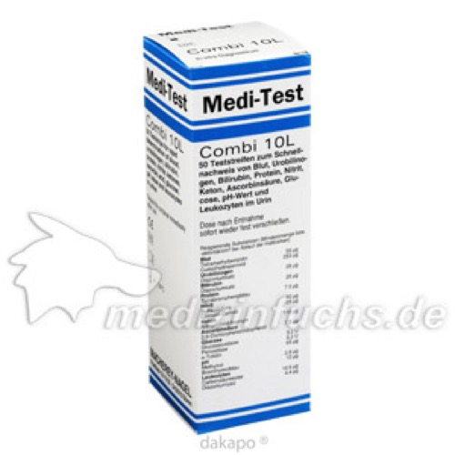 Medi Test Combi 10 L, 50 ST, Macherey-Nagel GmbH & Co. KG