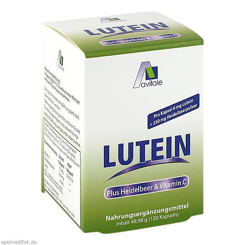 Lutein Kaps 6mg+Heidelbeer, 120 ST, Avitale GmbH