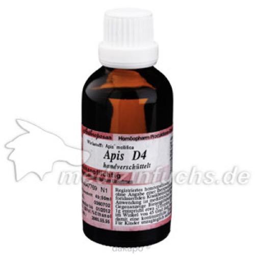 APIS D 4, 50 ML, Anthroposan Homöopharm Produktionsgesellschaft mbH