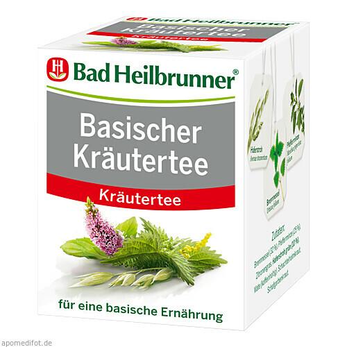 Bad Heilbrunner Basischer Kräutertee, 8 ST, Bad Heilbrunner Naturheilm. GmbH & Co. KG