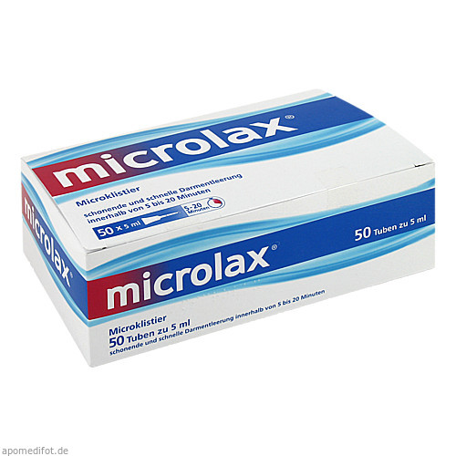 Microlax Klisterie, 50 ST, Emra-Med Arzneimittel GmbH