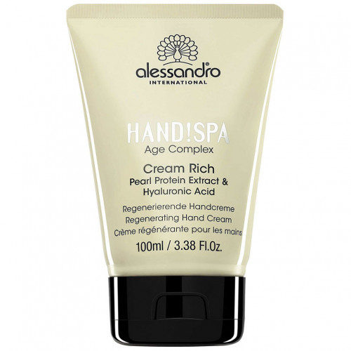 alessandro HAND SPA Cream Rich, 100 ML, alessandro International GmbH