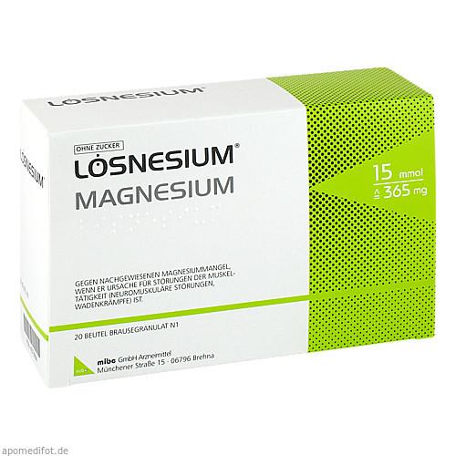 LOESNESIUM BTL BRAUSEGRAN, 20 ST, Mibe GmbH Arzneimittel