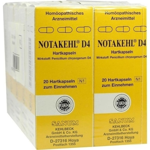 NOTAKEHL D 4, 10X20 ST, Sanum-Kehlbeck GmbH & Co. KG