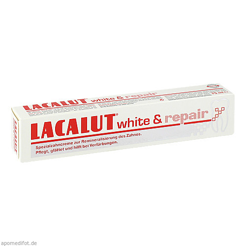 Lacalut white & repair, 75 ML, Dr. Theiss Naturwaren GmbH