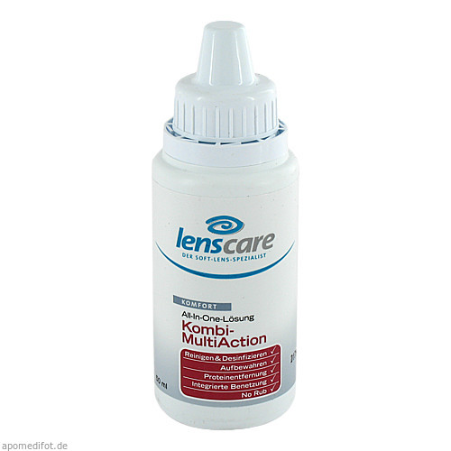 LENSCARE KOMBI MULTIACTION POCKET, 50 ML, 4 Care GmbH
