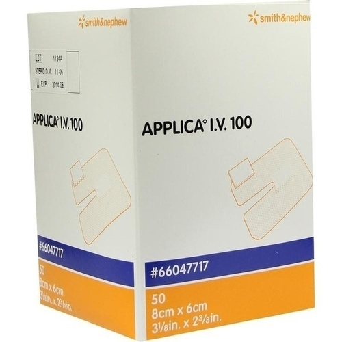APPLICA I.V. 100 STE KANUE, 50 ST, Smith & Nephew GmbH