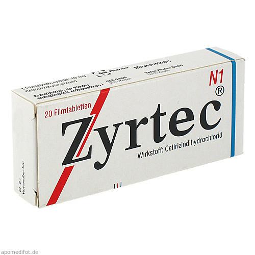 ZYRTEC, 20 ST, UCB Pharma GmbH
