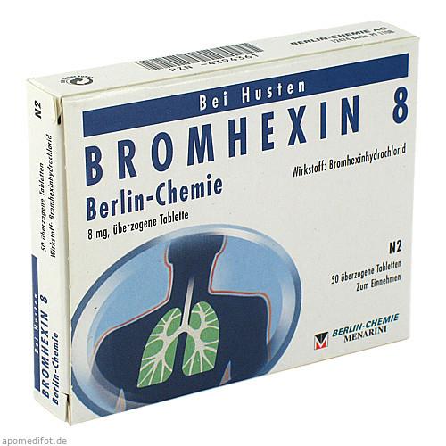 BROMHEXIN 8 BERLIN CHEMIE, 50 ST, Berlin-Chemie AG