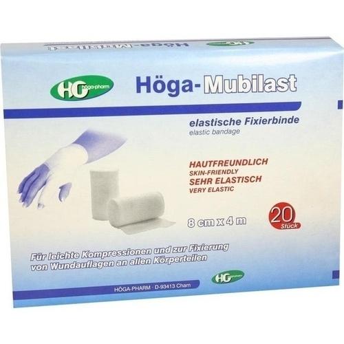 HOEGA MUBILAST o.Cello 8cmX4m, 20 ST, Höga-Pharm G.Höcherl
