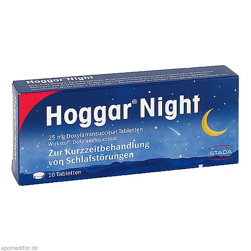 HOGGAR Night Tabletten, 10 ST, STADA GmbH