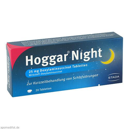 HOGGAR Night Tabletten, 20 ST, STADA GmbH