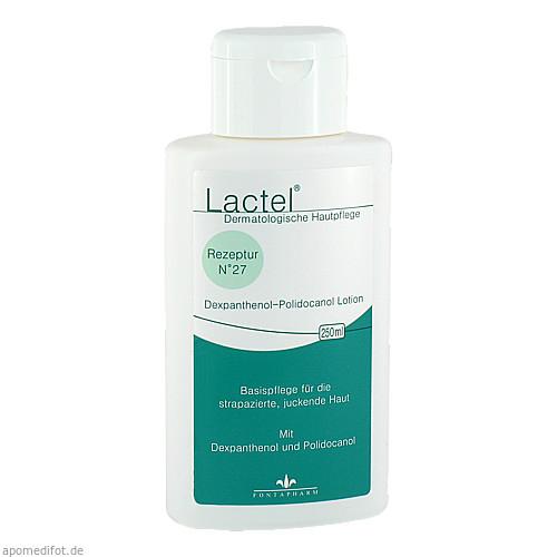 Lactel Nr.27 5% Dexpanthenol u. Polidocanol Lotion, 250 ML, Fontapharm AG